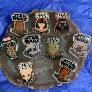 Smugglers Bounty Exclusive Star Wars pins